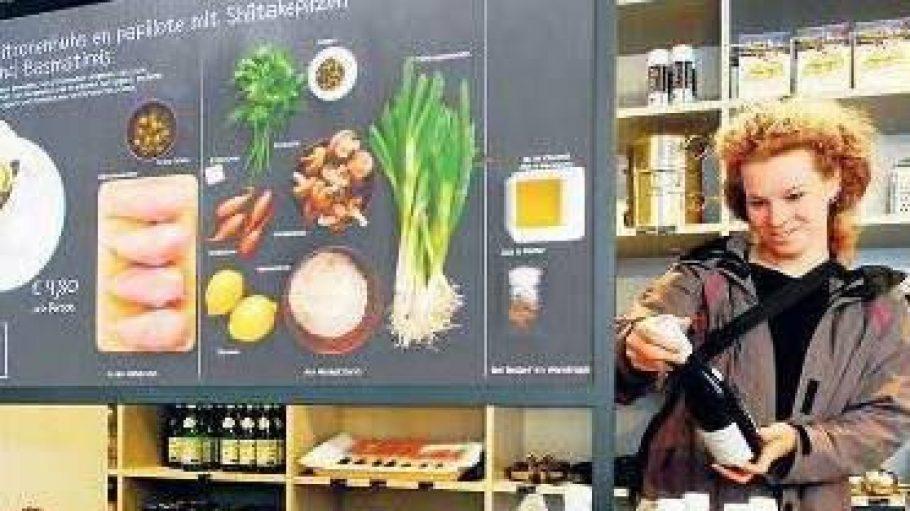 Ein Supermarkt der ganz besonderen Art: das Kochhaus in Prenzlauer Berg