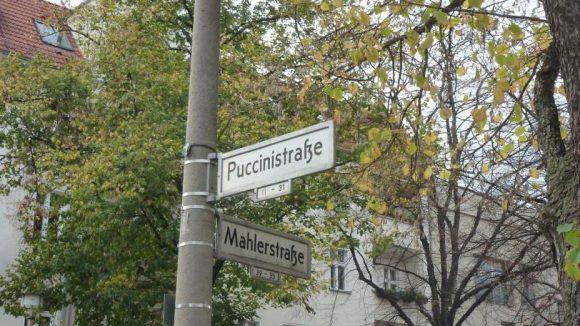 Das Viertel heißt tatsächlich so, weil die Straßen nach bedeutenden Komponisten benannt sind.