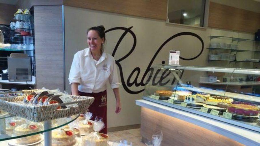 Bei Rabien gibt es nicht nur jede Menge Torten und Törtchen zu bestaunen und verzehren ...