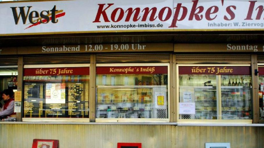 Ein echtes Berliner Unikat - Konnopke an der Eberswalder Straße.