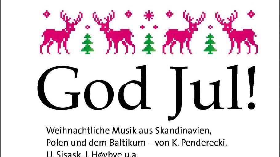 Konzertplakat God Jul!