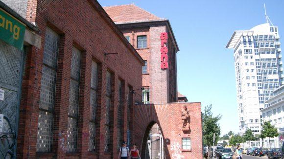 In der Arena Berlin finden regelmäßig Events statt.