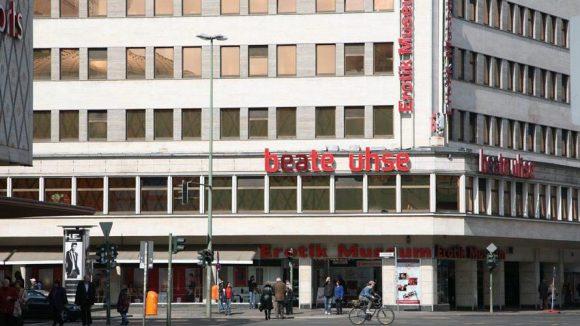 Nach 19 jahren schließt Beate Uhses Erotikmuseum an der Joachimstaler Straße.