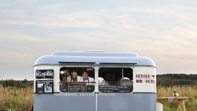 Auch der Streetfood Truck mit Deftigem aus Deutschland ist am Potsdamer Platz dabei: Der heiße Hobel.
