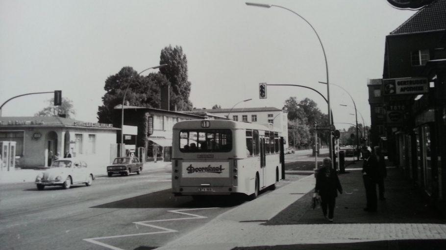 Der Bahnhof Lichterfelde-Ost 1971.