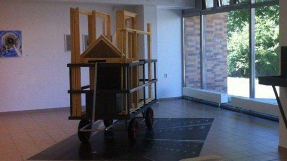 Vom Plattenbau zum Künstlerquartier: Nicht nur in der Galerie M finden junge Künstler in Marzahn eine aufgeschlossene Arbeits- und Ausstellungsfläche.