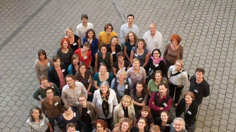 Alle 46 Kulturagenten aus den fünf beteiligten Bundesländern beim Gruppenfoto.
