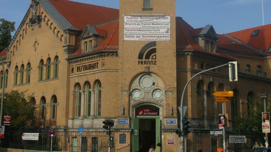 Zum Gelände der Kulturbrauerei gehört auch der populäre Frannz Club.