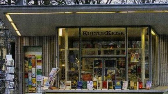 Nicht einfach vorbeigehen: Der KulturKiosk in Zehlendorf hat eine spannende Geschichte zu erzählen.