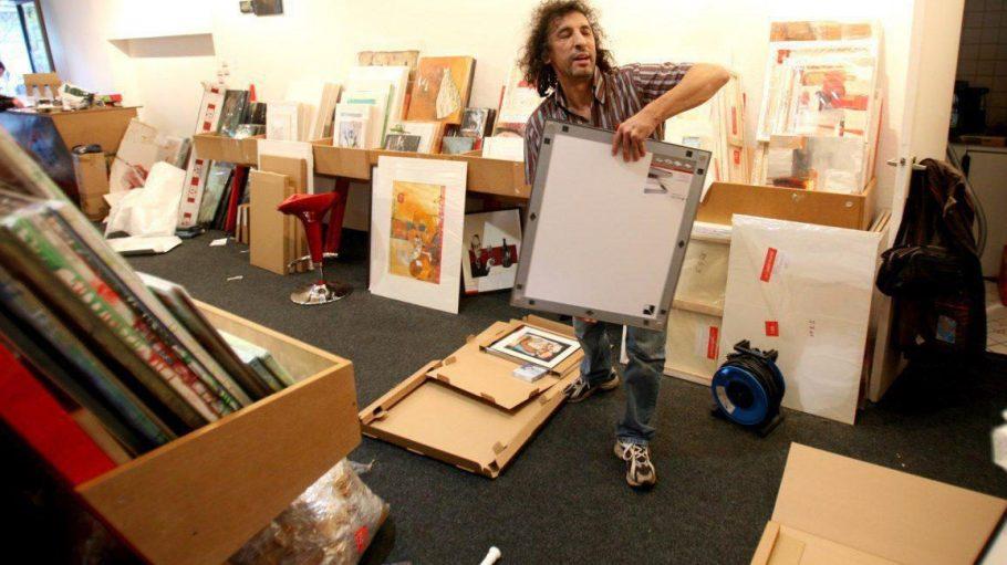 Im Kunstsupermarkt gibt's Kunst zu erschwinglichen Preisen.
