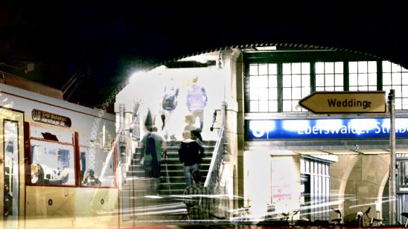 "Ausschnitt aus dem Kurzfilm ""HeymStadt""."