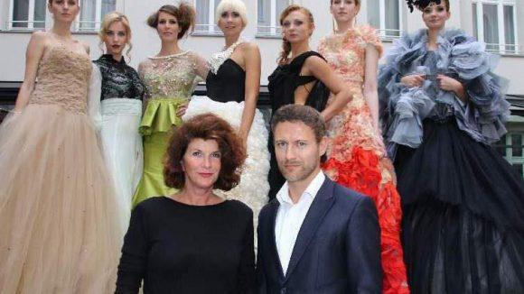 Der High Fashion-Award wird am 18. Oktober im Rahmen des Leipziger Opernballs verliehen. Hier die Geschäftsführer des Events Danilo Friedrich und Vivian Honert-Boddin.