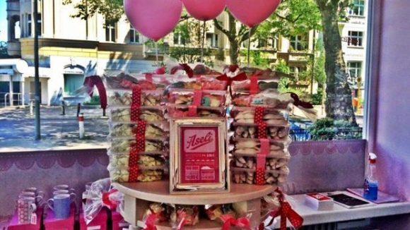 Bei La Donna Cannone gibt es mehr als nur Eis, Hauptsache pink.