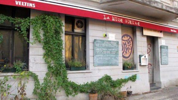 Das Restaurant wirkt eher unscheinbar von außen ...
