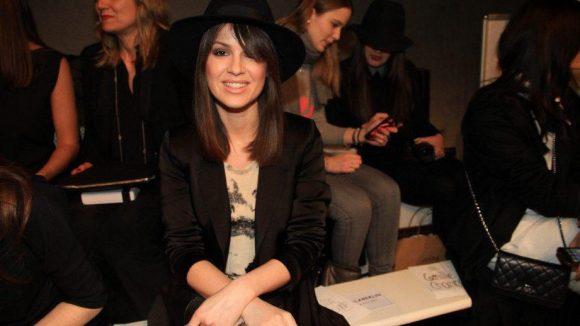 Auch Natalia Avelon wollte sich die neue Kollektion von Lala Berlin anschauen.
