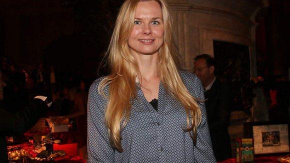 Nicht nur Boxer waren bei der Vorstellung des Kalenders dabei. Auch Schwimmerin Britta Steffen war ins Bode-Museum gekommen.
