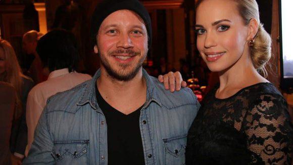 Die Schauspieler Max Hoppe und Lara-Isabelle Rentinck waren auch dabei.