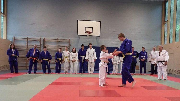 Unterschiede sind beim G-Judo des Budo Club Ken Shiki ganz normal.