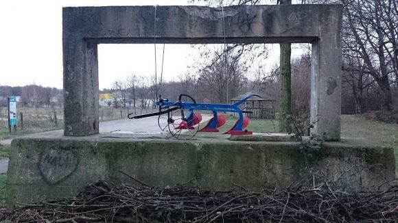 Pflugscharen zu Kunstwerken.