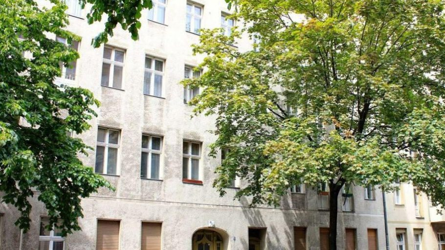 Leberstraße 36/38 vor der Sanierung.