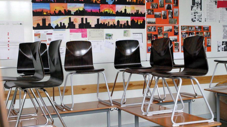 So dürfte es heute in etlichen Berliner Klassenzimmern aussehen ...