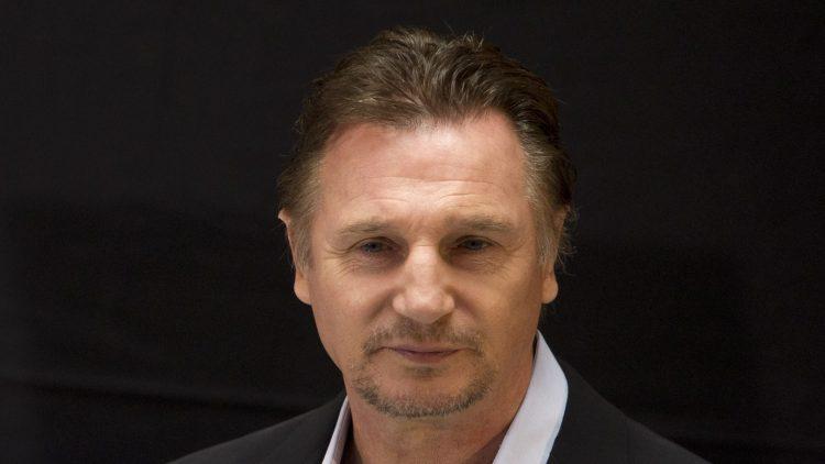 """Liam Neeson bei seiner letzten Filmvorstellung von """"The Grey - Unter Wölfen"""" in Berlin im vergangenen April."""