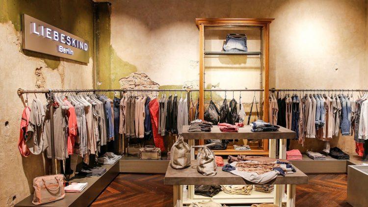 Das Berliner Modelabel Liebeskind eröffnete seinen Store in der Neuen Schönhauser Straße 8.