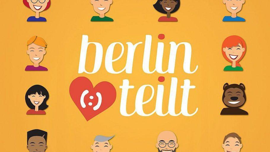Die Internet-Plattform Berlin teilt (:) ist als Non-Profit-Initiative seit 2012 in der Hauptstadt engagiert.