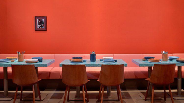 Nicht nur auf gutes Essen wird im Louis Pretty Wert gelegt, sondern auch auf Farbe.