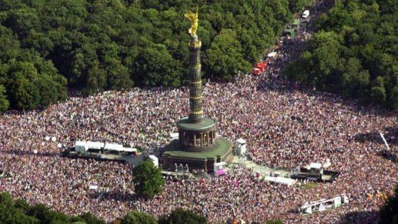 Für den Tiergarten stellte die frühere Loveparade eine große Belastung dar.