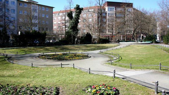 Gepflegtes Grün: Ludwigkirchplatz in Wilmersdorf