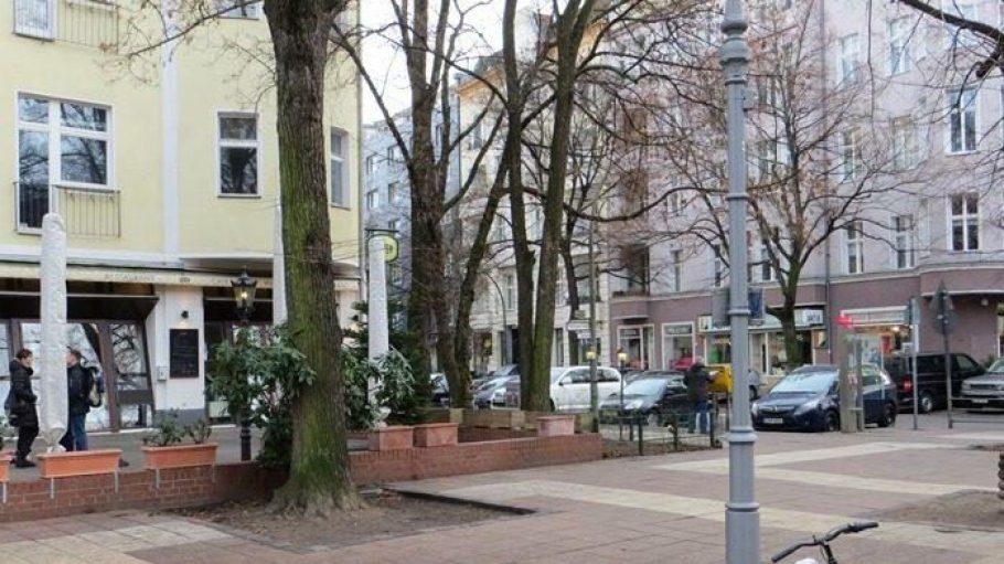 Eigentlich ganz normal: Die Pariser Straße in Berlin-Wilmersdorf.