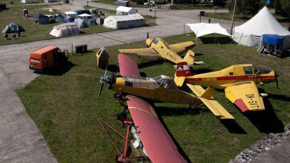 Das Luftfahrtmuseum Finowfurt ist beliebter Ort für Veranstaltungen. Sogar der Chaos Computer Club schlug hier bereits seine Zelte auf.