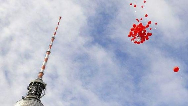 Von Berlin aus in die Welt: Gasluftballons auf ihrer Reise durch die Lüfte