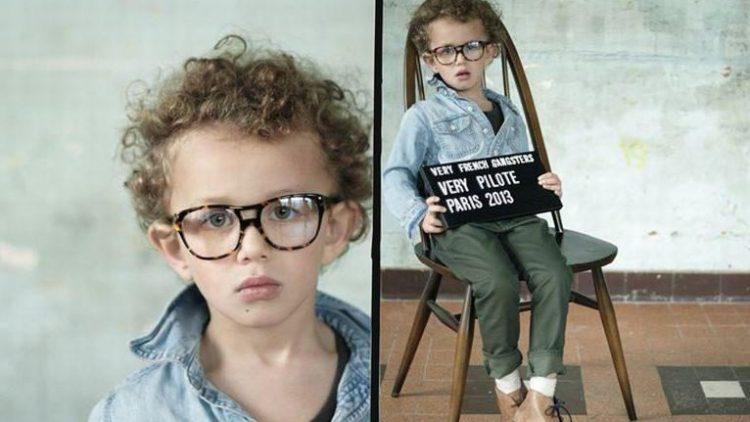 Stilvolle Modelle für Kids gibt es beispielsweise von der französischen Marke Very French Gangsters.