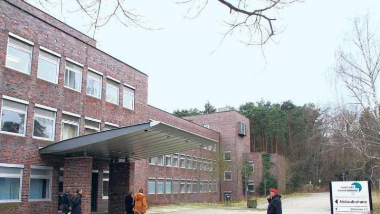 Krankenhaus am Rande der Stadt. Die Lungenklinik Heckeshorn soll künftig als Unterkunft für Flüchtlinge genutzt werden.