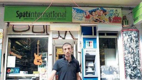 Mehmet Sevim hat 2014 mit seiner Frau den Späti International übernommen.