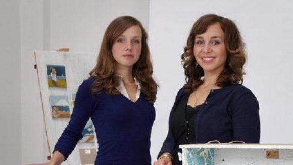 Die beiden Betreiberinnen von Mabellevie.