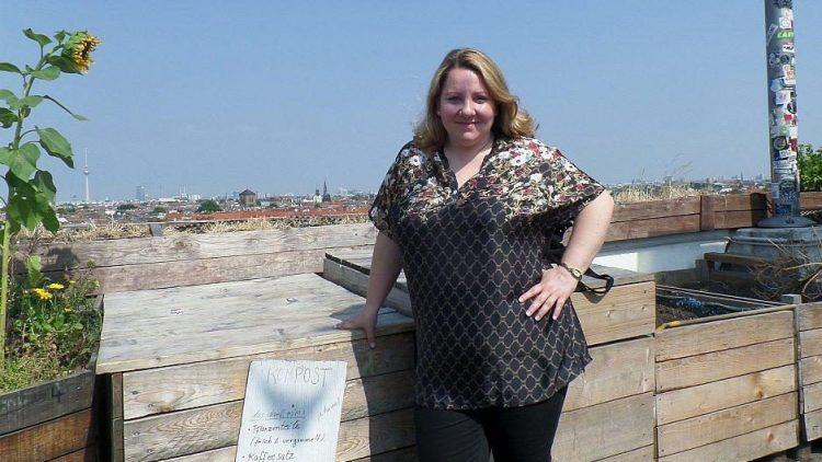 Über den Dächern von Neukölln: Mackie Heilmann wohnt schon über 15 Jahre im Bezirk.