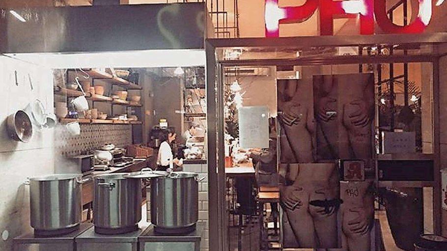 Bereicherung im bunten kulinarischen Angebot der Charlottenburger Kantstraße: das Madame Ngo mit frecher Fassade.