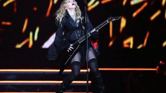 Ihre aktuelle Europa-Tournee startete Madonna in Köln. Heute und morgen rockt sie Berlin.