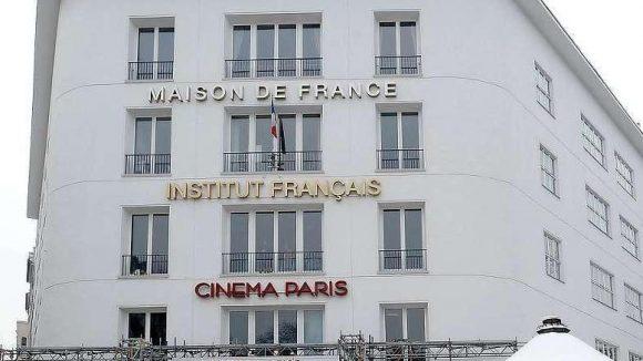 Kultur am Ku'damm. Seit 1950 existiert das Maison de France mit dem Institut Français und dem Kino Cinema Paris.