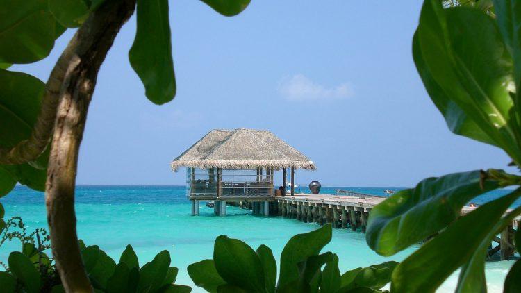 Traumziel Malediven: Wer möchte hier nicht gern Berlin repräsentieren?