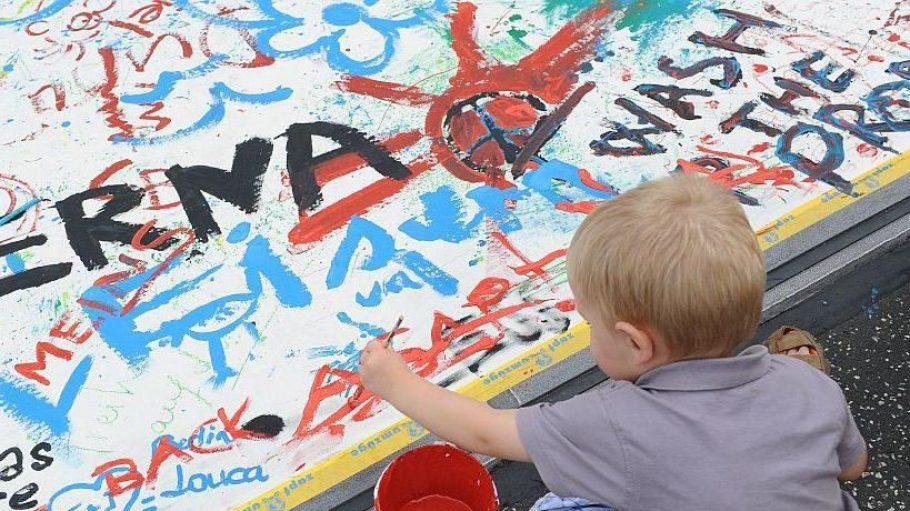 Wenn aus Kindern Künstler werden ...