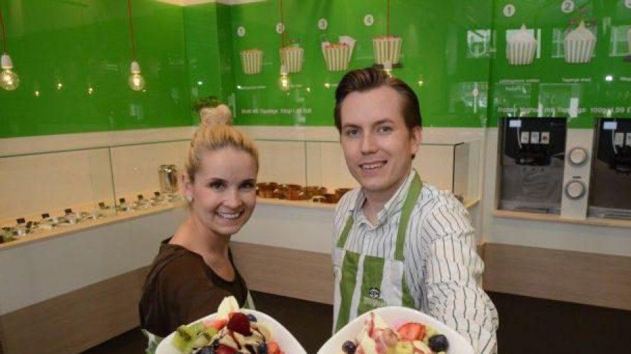 Malgorzata und Jan Olszewski sind die Geschäftsführer von Youghurt.