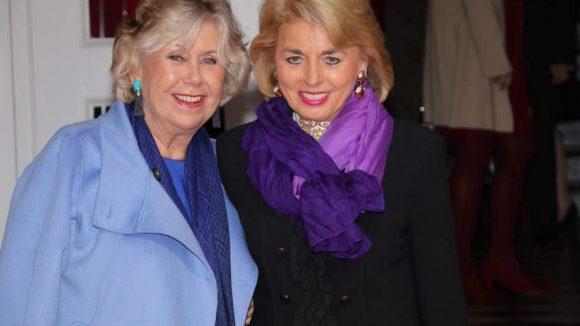 Blaues Blut: Isabel von Jena (l.) und Tini Gräfin Rothkirch vertraten den Adel.