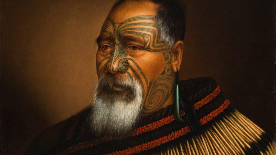 Einen Blick auf die indigene Bevölkerung Neuseelands ermöglichen uns die Portraits von Gottfried Lindauer.