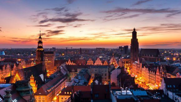 Ob über den Dächern der Stadt oder mittendrin: Das polnische Breslau ist eine Reise wert.
