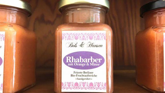 """Ob Rhabarber mit Orange und Minze oder andere Sorten: Marmeladen mit so viel Geschmack bekommt man bei """"Bols & Hansen""""."""