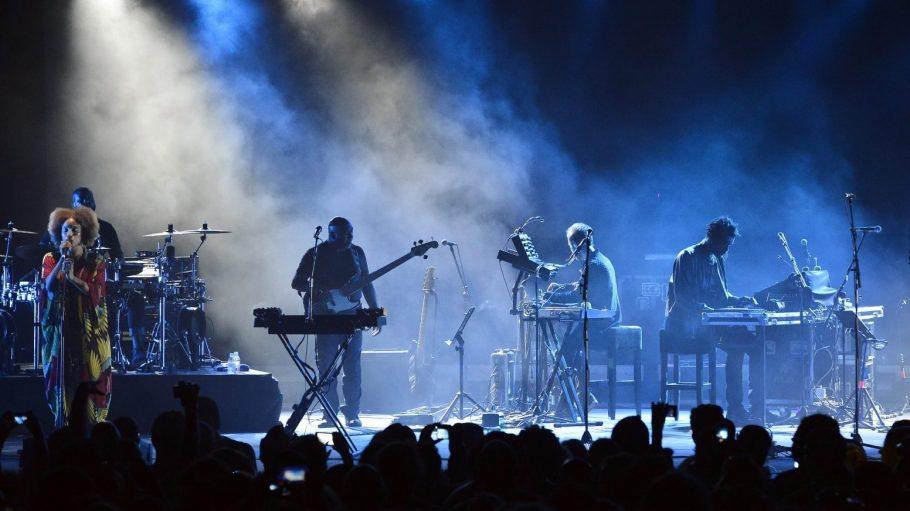 Massive Attack haben schon an exotischeren Orten als in Spandau gespielt - etwa 2014 in Beirut.